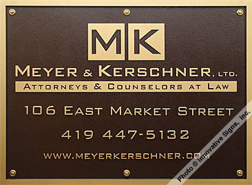 Meyer_Plaque_DuraBronze™_Attorney_Sign