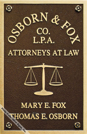 Osborn_Plaque_Cast_Bronze_Law_Firm_Sign