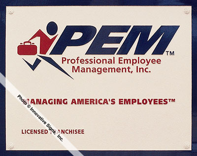 PEM_Plaque_Cast_Aluminum_Office_Plaque