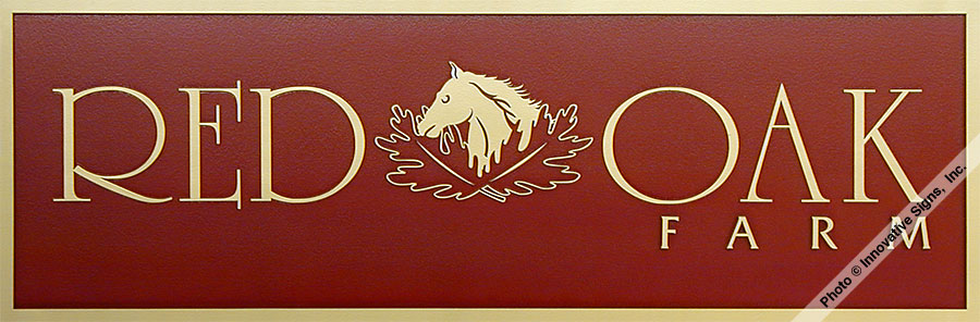 Red_Oak_Office_DuraBronze™_Office_Plaque