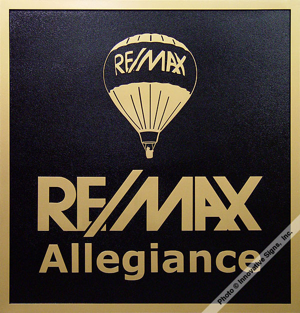 ReMax_Office_DuraBronze™_Office_Plaque