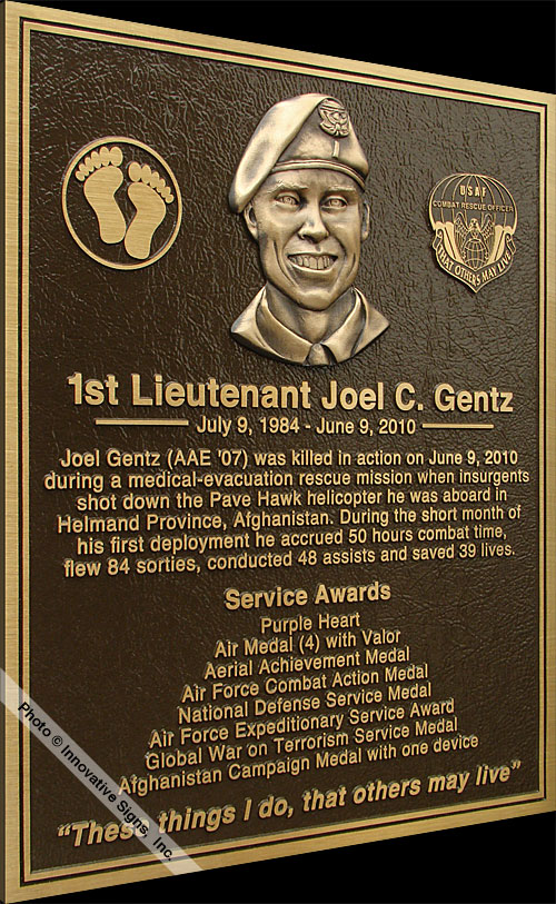 Text_Plaque_Cast_Bronze_Military_Plaque
