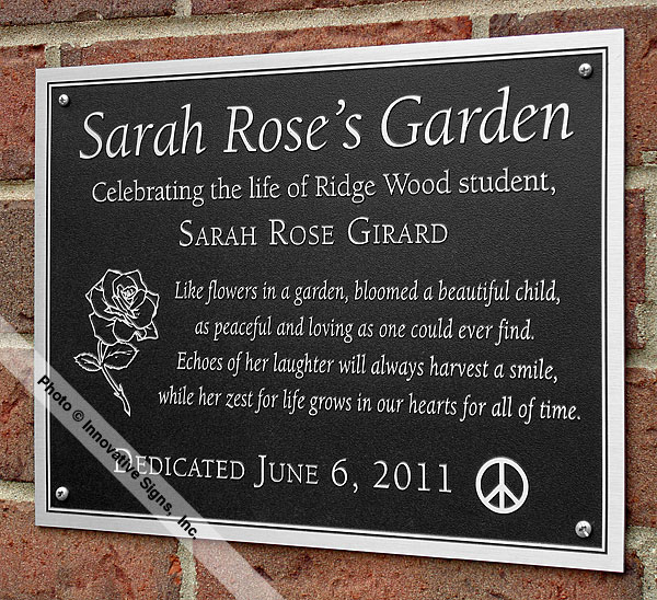 Ridge_Wood_Office_Etched_Zinc_Memorial_Plaque