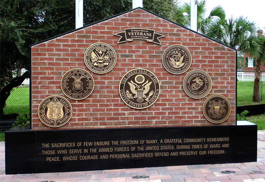 _Cast_Bronze_Military_Plaque